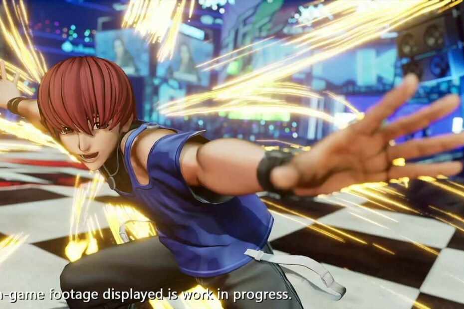The King of Fighters XV - Chris Screenshot 04