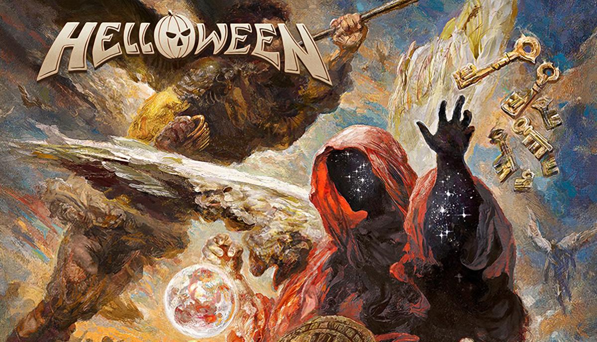 Capa do novo álbum do Helloween Topo