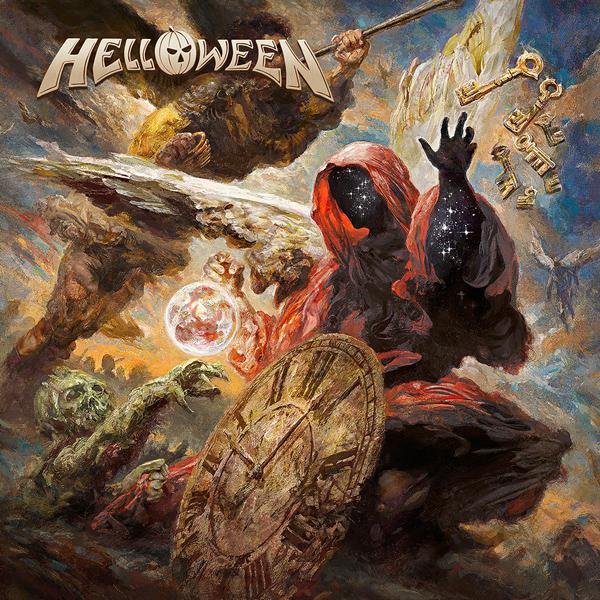 Capa do novo álbum do Helloween