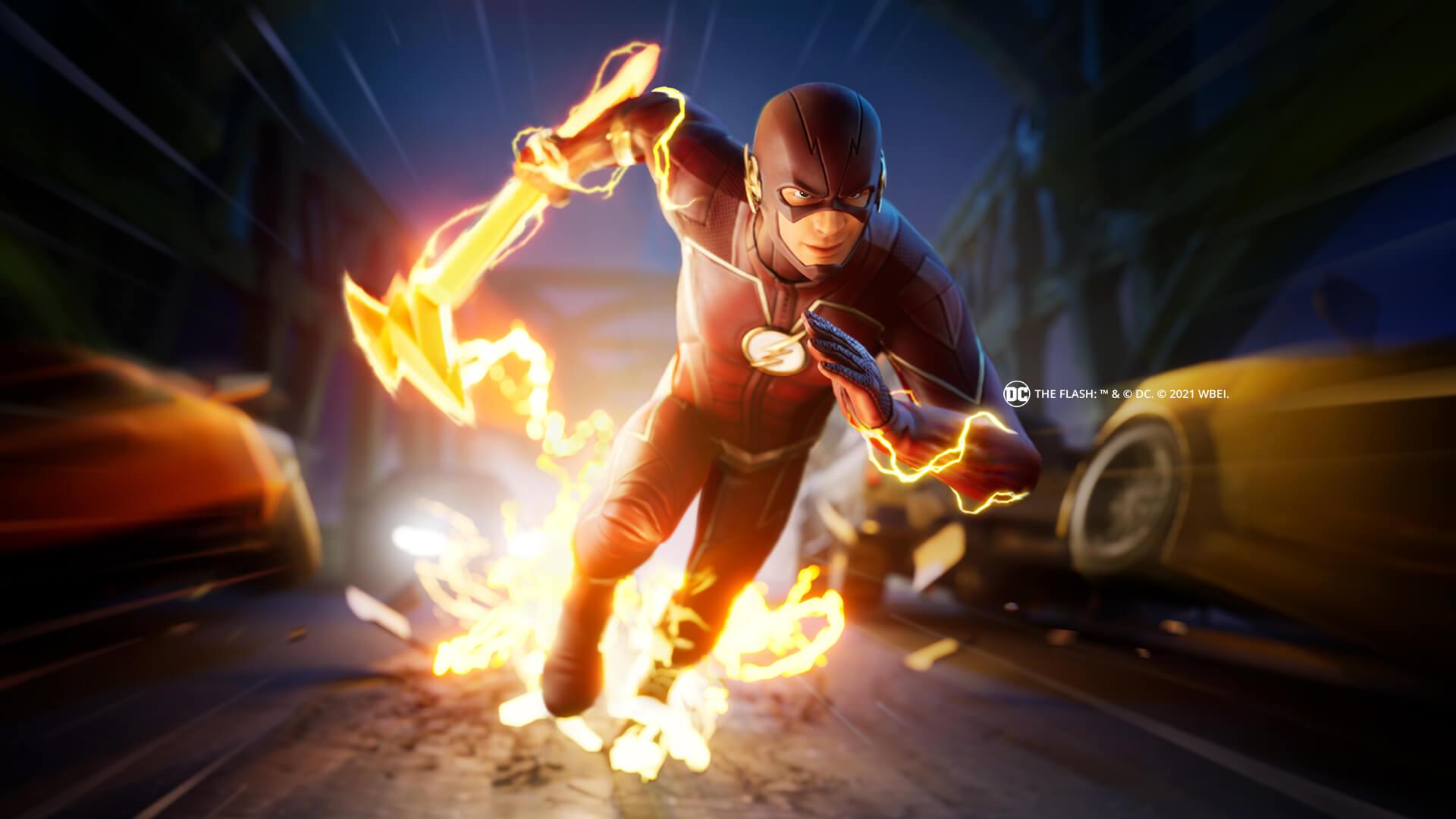 Fortnite The Flash Banner