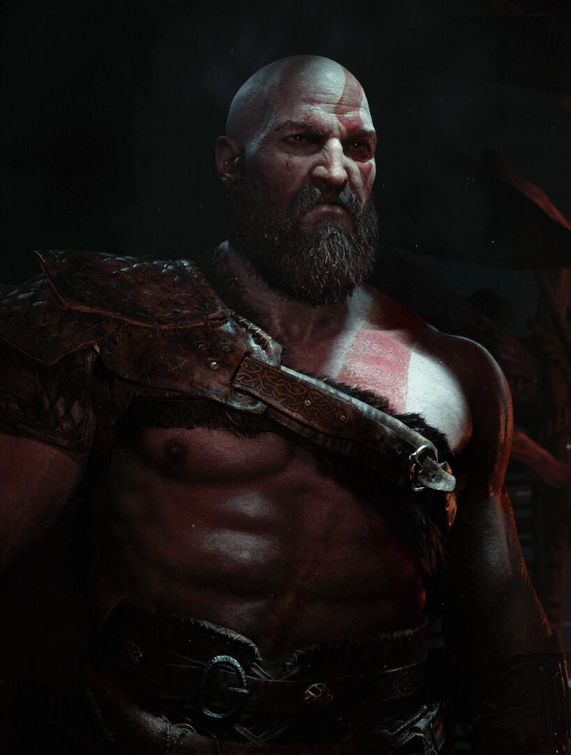 God of War Kratos Screen capa