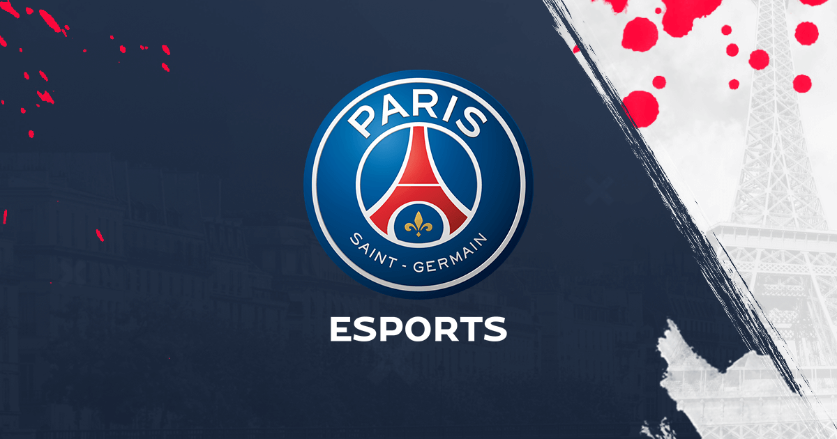 PSG Esports Banner Logo