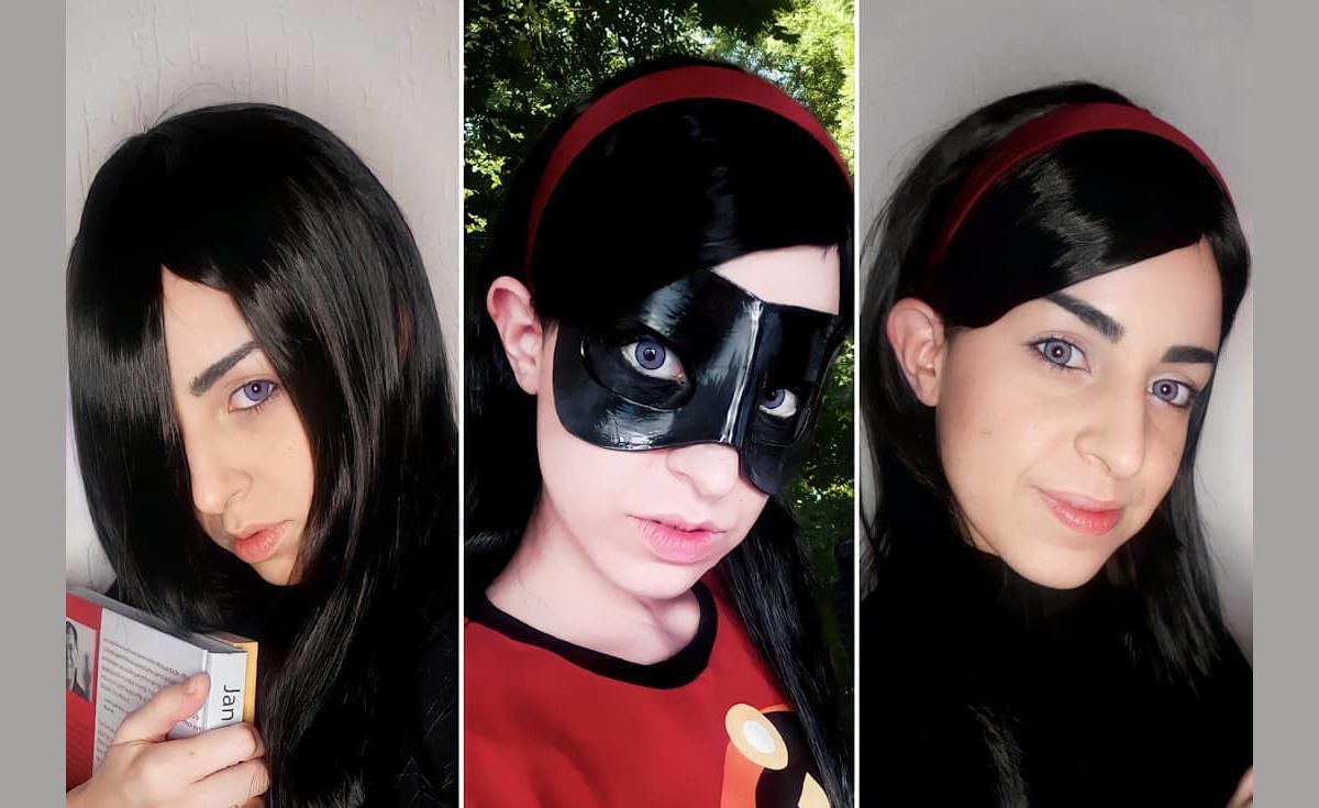 Veja um belo cosplay da Violeta - Os Incríveis - Capa