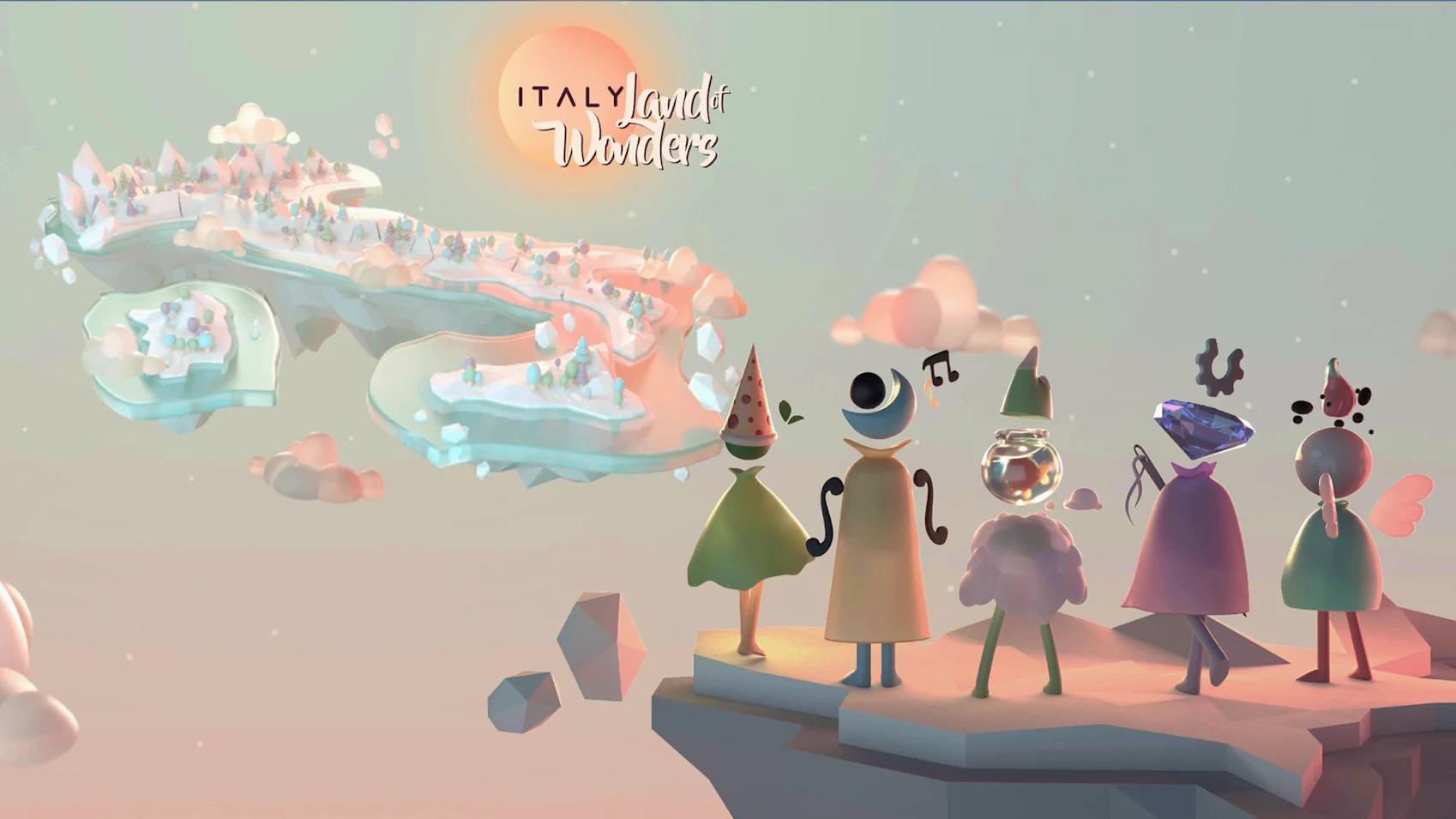 ITALY. Land of Wonders Capa