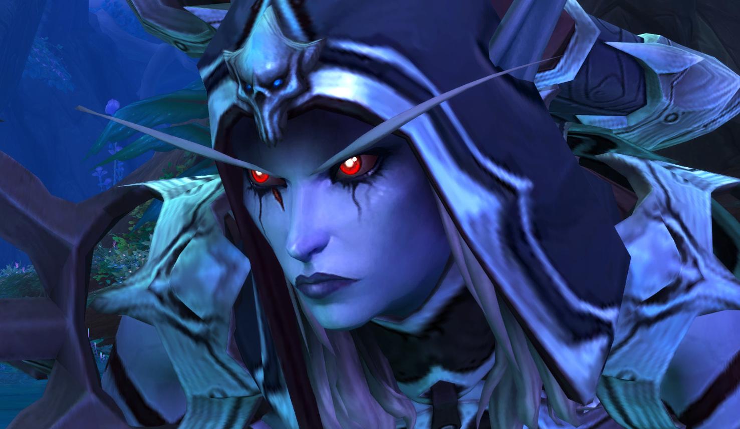 World of Warcraft - Sylvana Correventos em Shadowlands