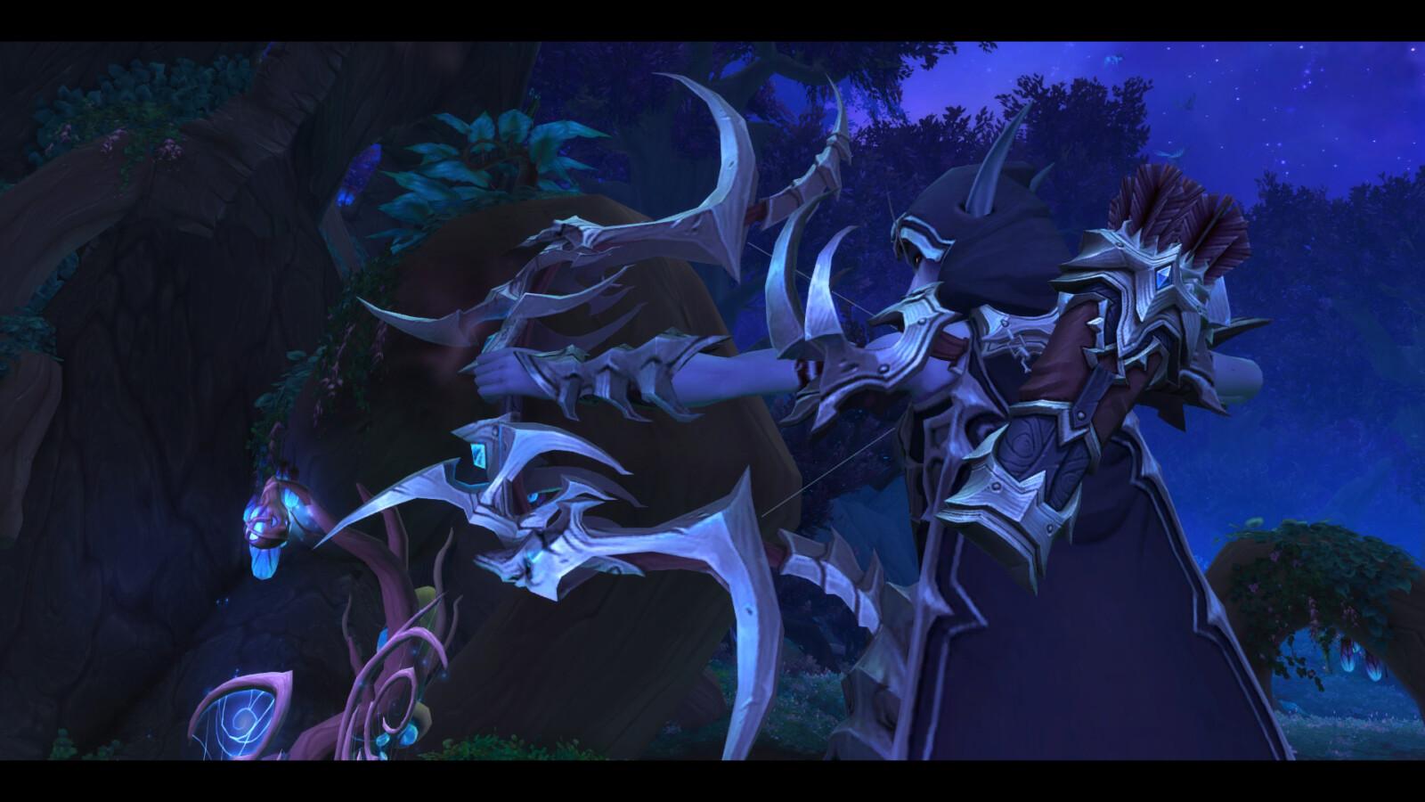 World of Warcraft - Sylvana em Shadowlands - Screen 01